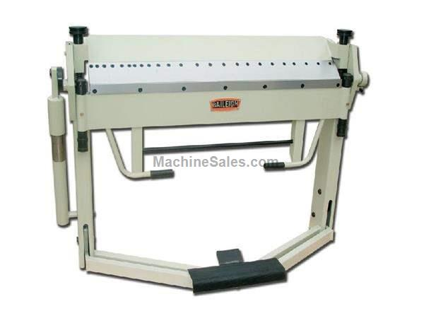 "12Ga Thickness 40"" Width Baileigh BB-4012F FINGER BRAKE, foot operated material clamping"