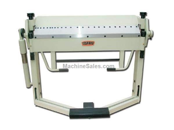 "14Ga Thickness 50"" Width Baileigh BB-5014F FINGER BRAKE, foot operated material clamping"