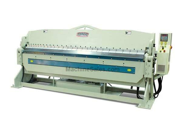"10"" Thickness 120"" Width Baileigh BB-12010H-NC FINGER BRAKE, 220V; 3ph; 2 axis NC controlled"