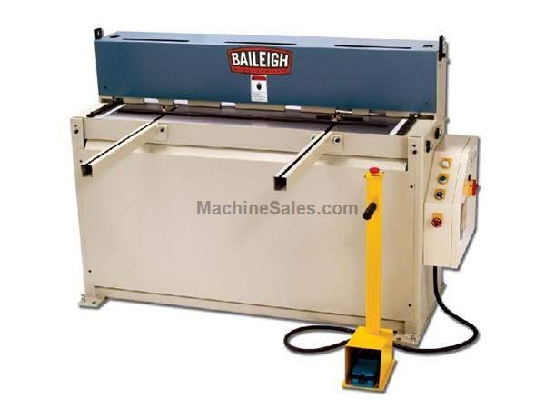 "0.0747"" Cap. 52"" Width Baileigh SH-5214 NEW SHEAR, 35 strokes per minute; 3hp, 220V 1ph"