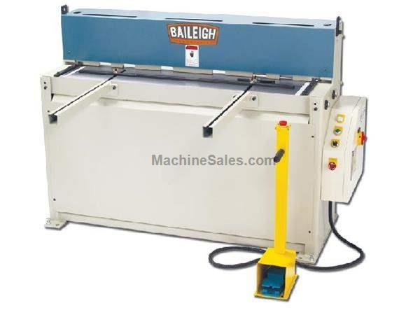 "0.1345"" Cap. 52"" Width Baileigh SH-5210 NEW SHEAR, 28 strokes per minute; 5hp, 220V 1ph"