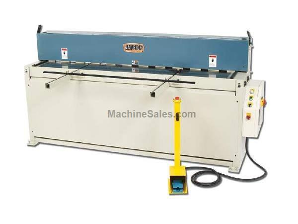 "0.1345"" Cap. 80"" Width Baileigh SH-8010 NEW SHEAR, 24 strokes per minute; 5hp, 220V 3ph"