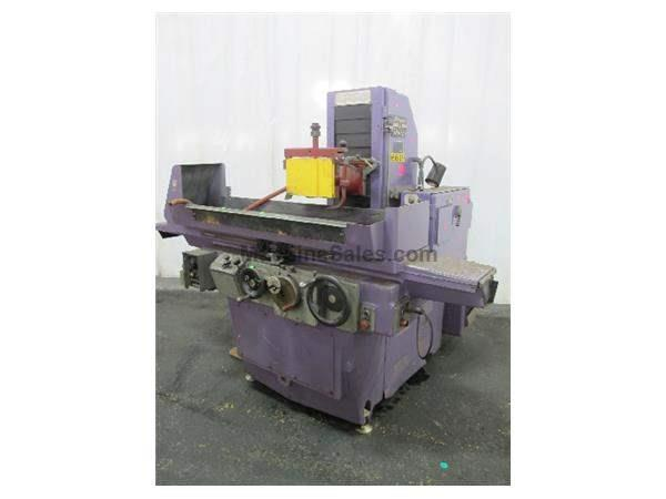 "12"" Width 36"" Length Brown & Sharpe 1236 MICROMASTER SURFACE GRINDER, AUTO IDF, 3X AUTO FEEDS, FINE-DIV. EMC, COOLANT"