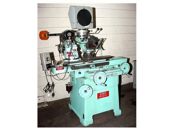 Hybco 1900 TOOL & CUTTER GRINDER, OPT. COMP., 2100 SB RELIEVING FIXTURE,