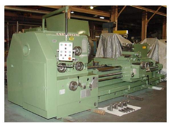 "38"" Swing 80"" Centers Timemaster Gurutzpe BT 2000/500 ENGINE LATHE, Inch/Metric, Gap, 4- Jaw,Toolpost, Power Compound,"
