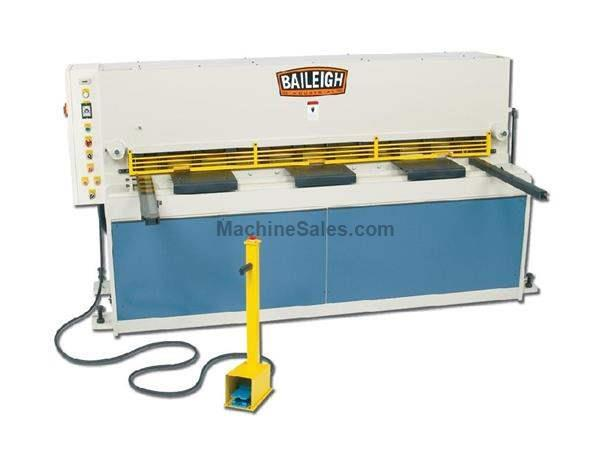 "0.1345"" Cap. 80"" Width Baileigh SH-8010-HD NEW SHEAR, 32-44 strokes per minute; 7.5 hp,220v 3ph"