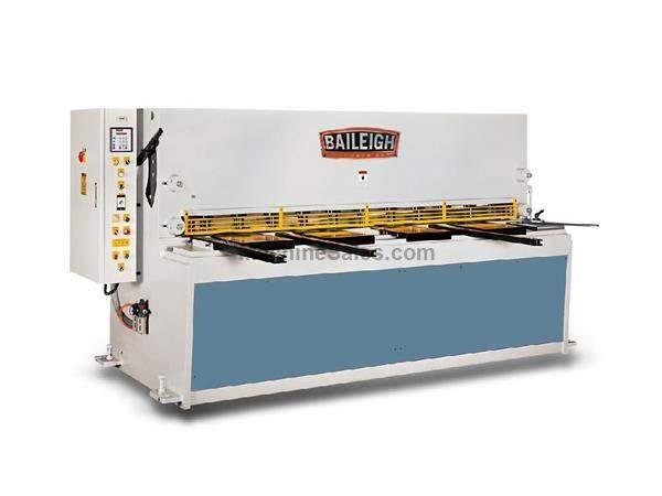 "0.25"" Cap. 120"" Width Baileigh SH-12003-HD NEW SHEAR, 20-30 strokes per minute; 20 hp, 220v, 3ph"