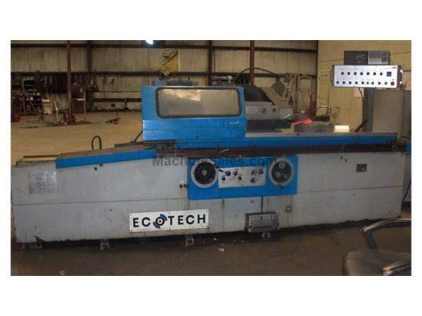 "14"" Swing 60"" Centers Ecotech MB1332B OD GRINDER, HYD. TABLE, AUTO INFEED, PLUNGE, RAPID, SPKT"