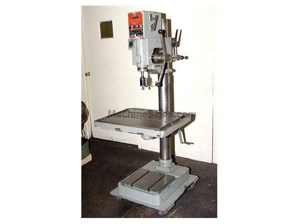 "20"" Swing 1.2HP Spindle Wilton 20606 DRILL PRESS, Geared Head, Tapmatic"