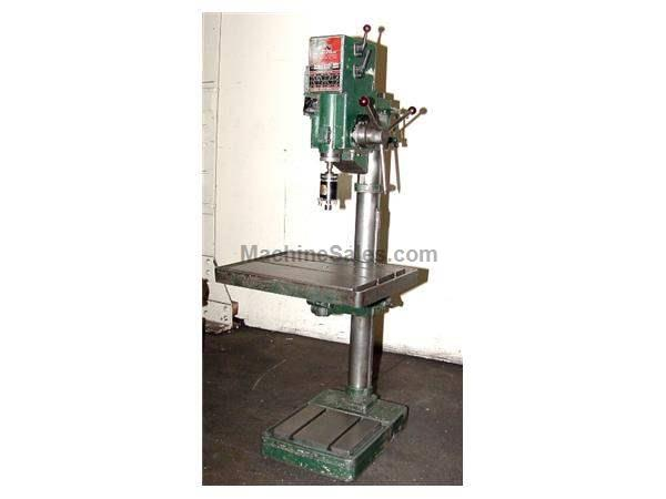 "20"" Swing 1.2HP Spindle Wilton 20600 Geared Head DRILL PRESS, Geared Head, Tapmatic"