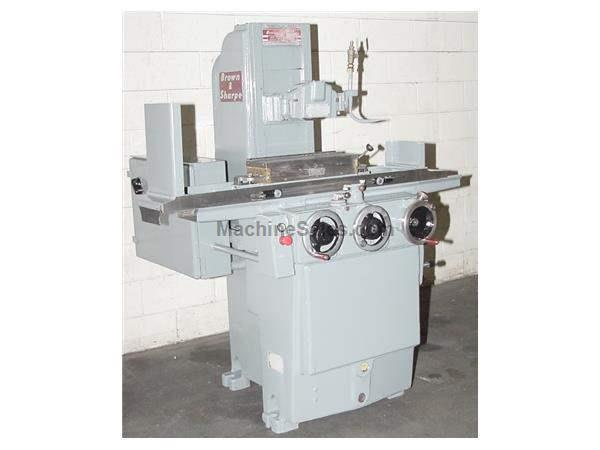 "6"" Width 18"" Length Brown & Sharpe 618 MICROMASTER SURFACE GRINDER, HYD. LONG. & CROSS FEEDS,"