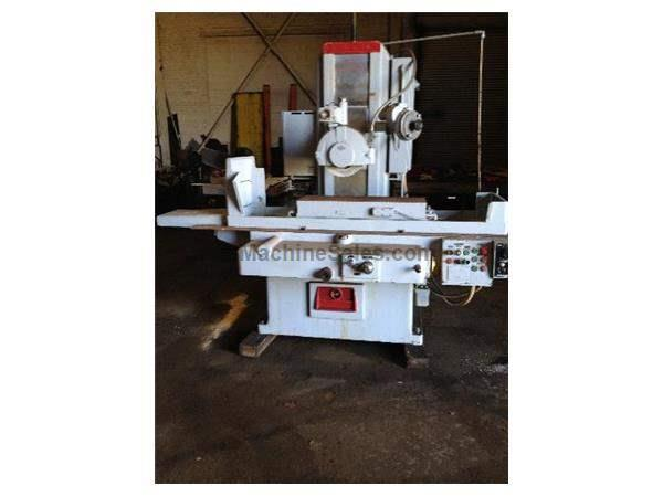 "12"" Width 36"" Length Gallmeyer & Livingston 556, 6"" EXT. VERTICAL SURFACE GRINDER, AUTO IDF, 3X AUTO FEEDS, O.S. WALKER EMC, HI-COLUM"