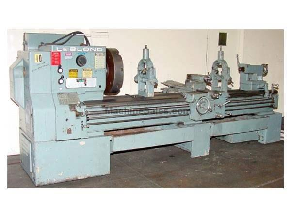 "26"" Swing 96"" Centers LeBlond REGAL Servo-shift ENGINE LATHE, Inch/Metric,Taper,4-Jaw,(2) Steady Rests, 15 HP,"