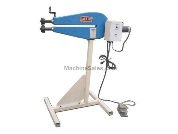 "Baileigh BR-18E-24 CRIMP & BEADING MACHINE, 110v 18ga x 24"" bead roller"