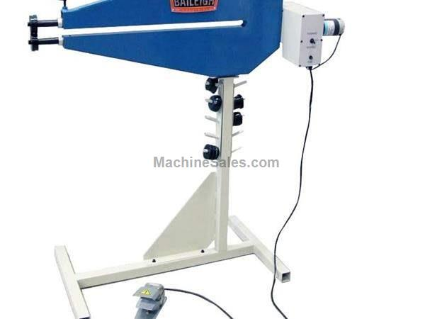 "Baileigh BR-18E-36 CRIMP & BEADING MACHINE, 110v 18ga x 36"" bead roller"