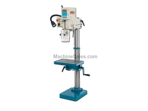 1.5HP Spindle Baileigh DP-1000G DRILL PRESS, 110v gear driven