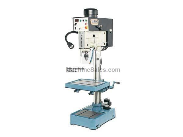 "20.8"" Swing 2HP Spindle Baileigh DP-1250VS DRILL PRESS, 220v 1-phase inverter driven"