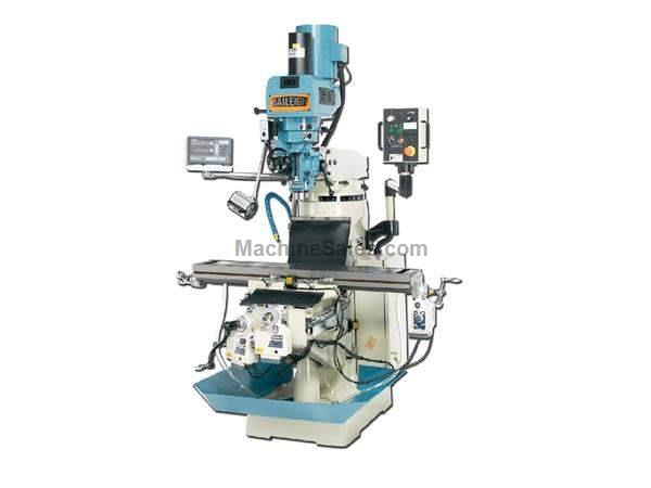 "49"" Table 3HP Spindle Baileigh VM-949 VERTICAL MILL, 220v 1ph. (3ph. optional) variable speed"