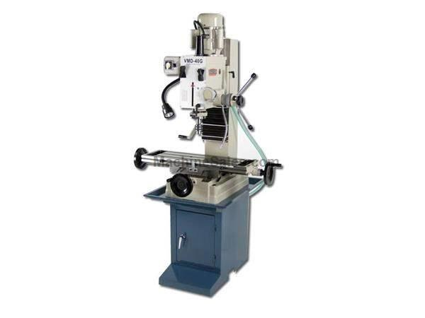 "28.75"" Table 1.5HP Spindle Baileigh VMD-40G VERTICAL MILL, 110v gear driven vertical mill/drill press"