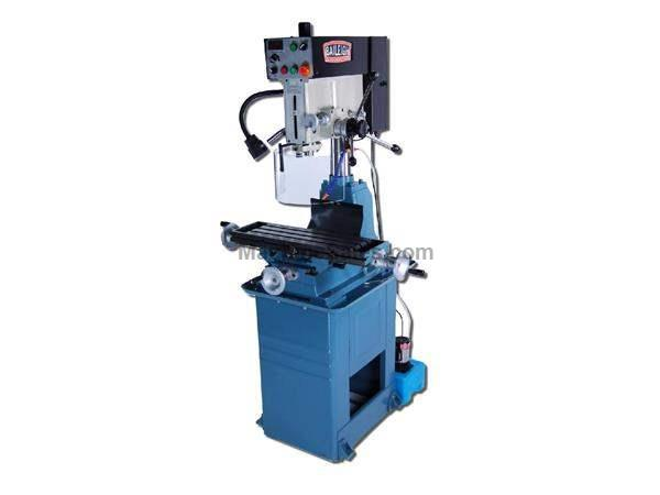 "28.75"" Table 2HP Spindle Baileigh VMD-30VS VERTICAL MILL, 220v 1phase inverter driven mill/drill"