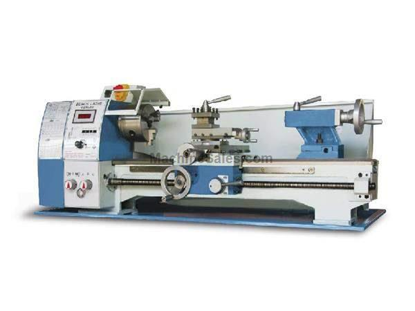 "9.75"" Swing 19.6"" Centers Baileigh PL-1022VS ENGINE LATHE, 110V VARIABLE SPEED BENCH TOP LATHE"