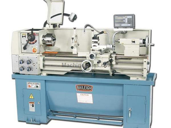 "13"" Swing 39"" Centers Baileigh PL-1340 ENGINE LATHE, 220V 1-PHASE 2 HP PRECISION LATHE"
