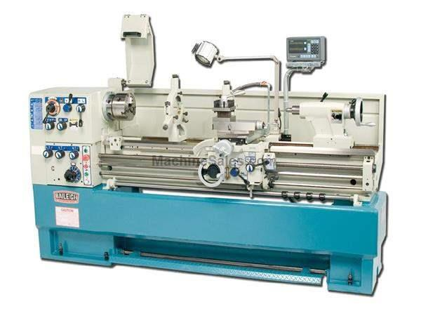 "18"" Swing 60"" Centers Baileigh PL-1860 ENGINE LATHE, 3-1/8"" SPINDLE BORE, 7-1/2 HP PRECISION LATHE"