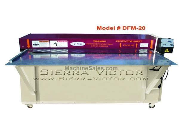 "20 ga. x 50"" GMC® Diamond Forming Machine"