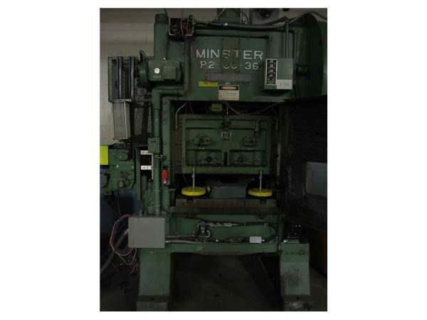 MINSTER P2-60-36 PIECEMAKER STRAIGHT SIDE PRESS