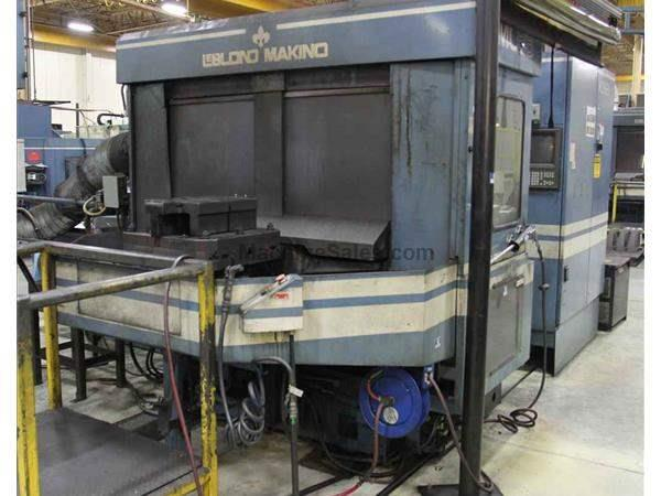 MAKINO MC-86 4-AXIS CNC HORIZONTAL MACHINING CENTER