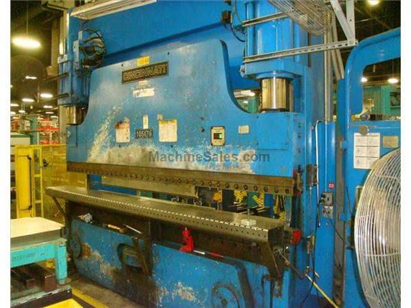 CINCINNATI 230AF10 8-AXIS HYDRAULIC CNC PRESS BRAKE