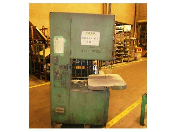GROB 4V-24 VERTICAL BAND SAW