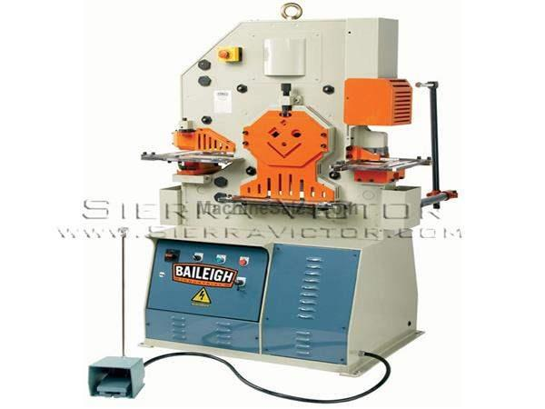 62 Ton BAILEIGH® 5 Station Hydraulic Ironworker