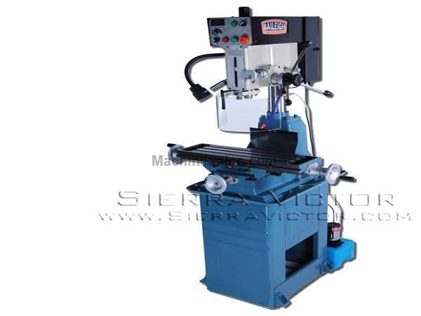 "1-1/8"" BAILEIGH® Vertical Drill Press & Milling Machine"