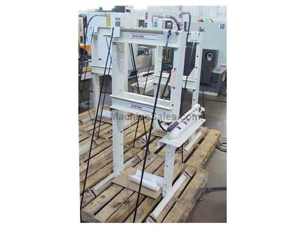 10 Ton Ram-Pac H-Frame Hydraulic Press, Model HPH-101