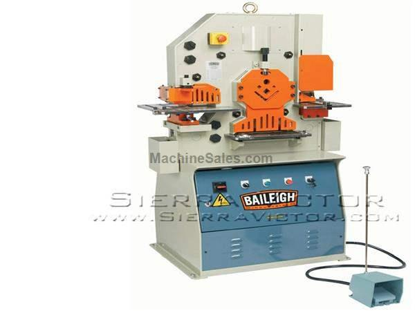 50 Ton BAILEIGH® 5 Station Hydraulic Ironworker (3 Phase)