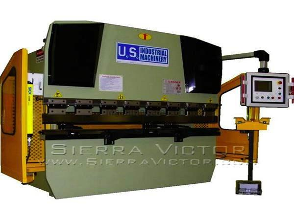 44 Ton x 6' U.S. INDUSTRIAL® CNC Hydraulic Press Brake