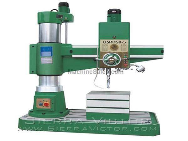 "49"" U.S. INDUSTRIAL® Radial Arm Drill Press"