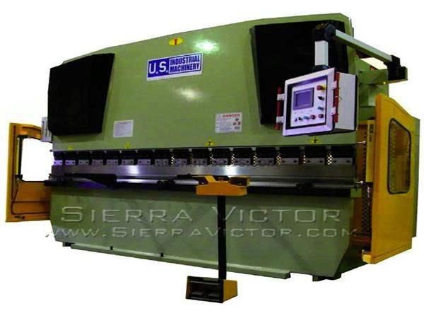 125 Ton x 8' - 13' U.S. INDUSTRIAL® CNC Hydraulic Press Brakes
