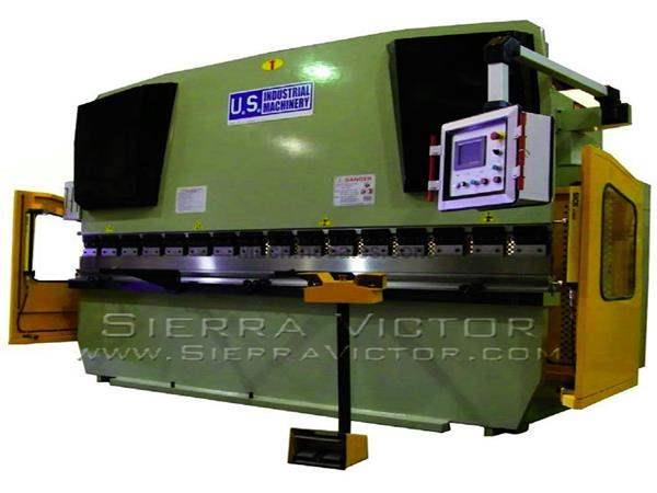 155 Ton x 8' - 13' U.S. INDUSTRIAL® CNC Hydraulic Press Brakes