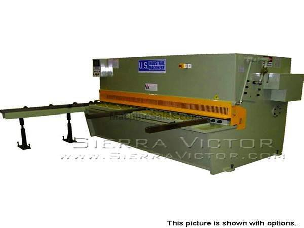 "8' x 1/2"" U.S. INDUSTRIAL® Hydraulic Shear"