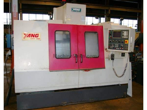 YANG #SMV-1000 CNC VERTICAL MACHINING CENTER