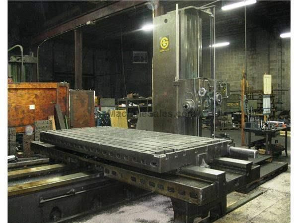 "5"" GIDDINGS & LEWIS MODEL 70-D5-T HIGH POWER PRECISION TABLE TYPE HORIZONTAL BORING M"