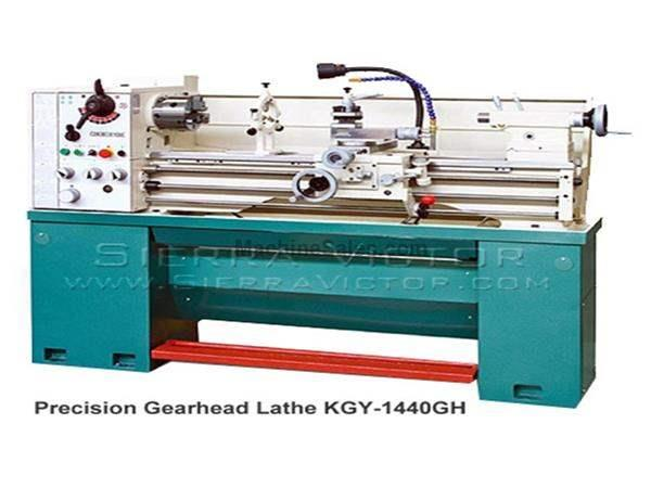 "14"" x 40"" BIRMINGHAM® Precision Gear Head Bench Lathe"