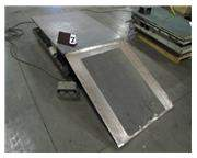 "48 3/4"" x 36 3/4"" ELECTROHYDRAULIC SCISSOR LIFT TABLE"