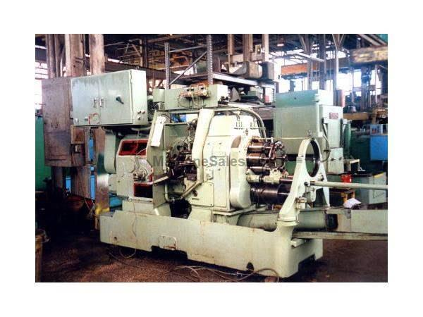 "1 1/4"", MITSUBISHI-ACME GRIDLEY, #MRA-6, 6 SPDL., 5 CROSS SLIDES, STOCK, STAND & REEL, 1980"