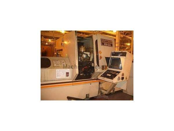"HUFFMAN MODEL HS134 CNC BROACH SHARPENER 96"" CENTERS 15MA FANUC, 1993 Gibbs Machinery"