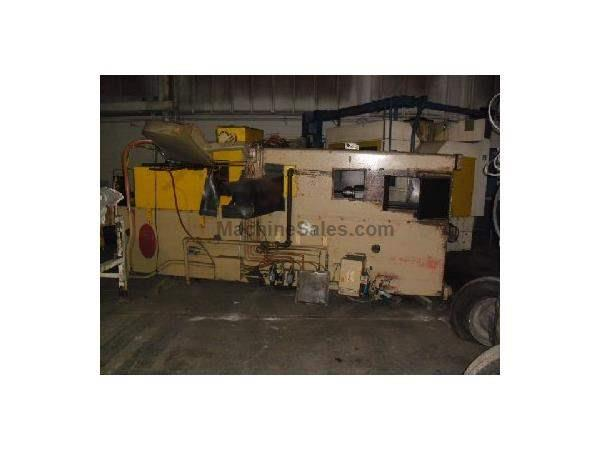 MODEL VP 10 X 42 U.S. VERTICAL PULL DOWN BROACH WITH SPIRAL ATTACHMENT Gibbs Machinery Co