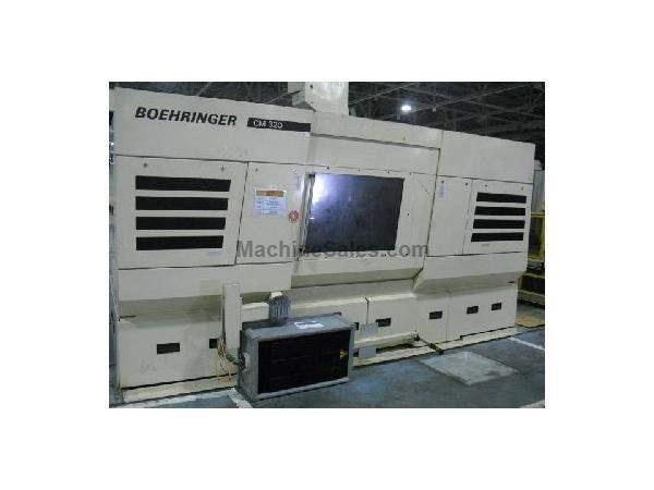 MODEL CM 320 BOEHRINGER CRANKSHAFT HIGH SPEED EXTERNAL TWIN MILLING MACHINE,2004
