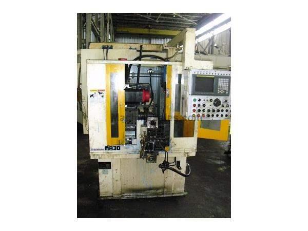 MODEL NO. MA30CNC MITSUBISHI GEAR CHAMFERING AND DEBURRING MACHINE,1999